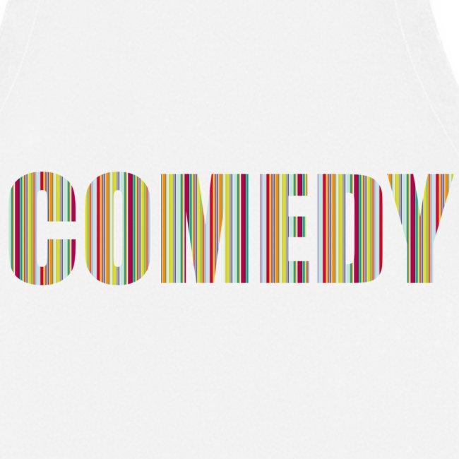 Comedy Schürze Streifen