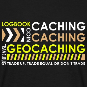 Caching-caching-geocaching 3color - Men's T-Shirt