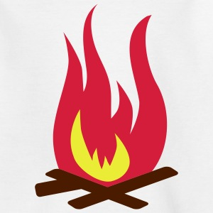 Feuer Kinder T-Shirts - Teenager T-Shirt