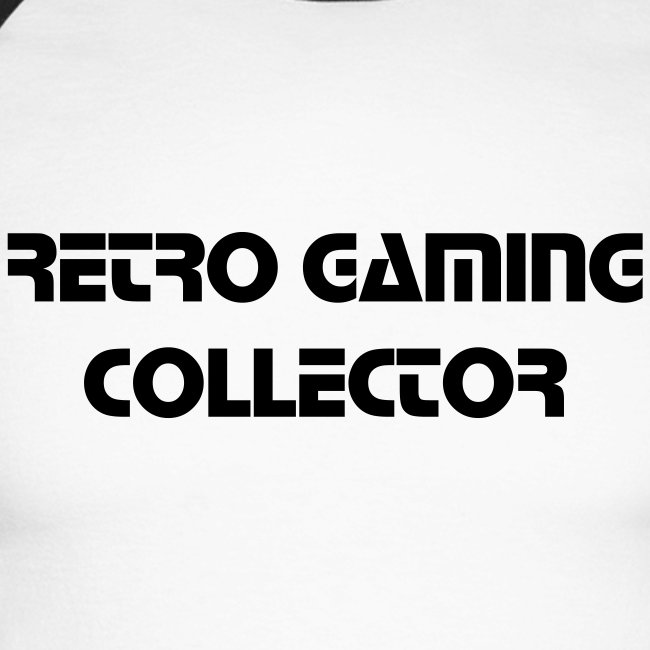 Retro Gaming Collector (Black)
