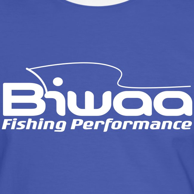 Tee Shirt Biwaa supporter Blue/White