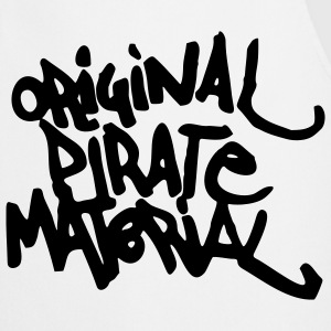 Original Pirate Material Logo  Aprons - Cooking Apron