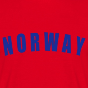 NORWAY Norge Norwegen football Fußball fútbol Länder countries fotball WM - eushirt.com - Männer T-Shirt
