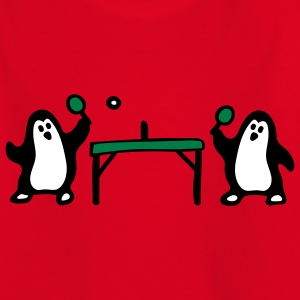 Pinguin Tischtennis 3 Kinder T-Shirts - Teenager T-Shirt