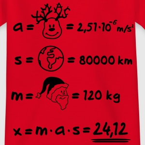 XMAS Formular Kinder T-Shirts - Teenager T-Shirt