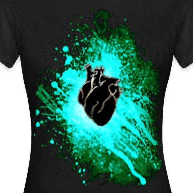 Raven Heart Blue