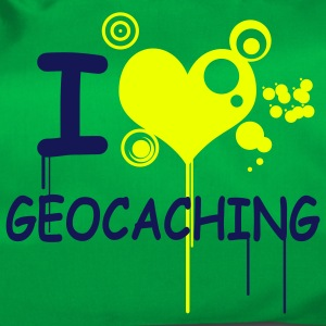 I love geocaching 2color - Borsa sportiva