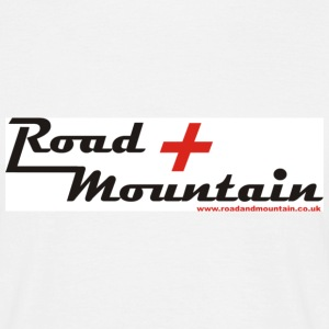 Road and Mountain.co.uk - Men's T-Shirt