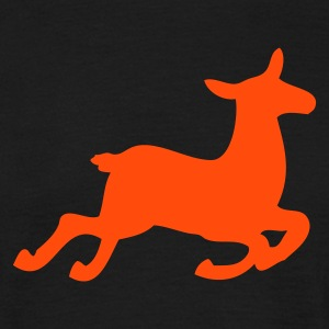 Sort Deer T-shirts - Herre-T-shirt