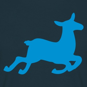 Navy Deer T-Shirts - Men's T-Shirt