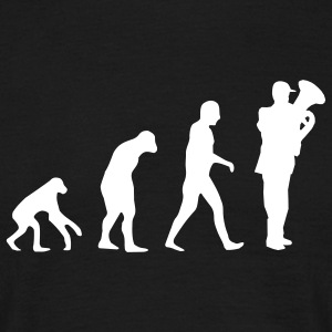 tuba evolution T-shirts - Herre-T-shirt