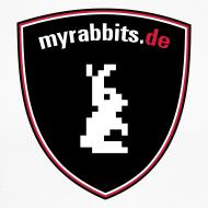 Motiv ~ myrabbits Baseballshirt Big Logo