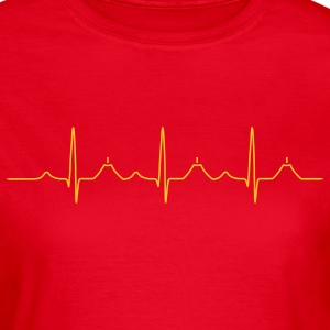 Healthy heart T-Shirts - Frauen T-Shirt
