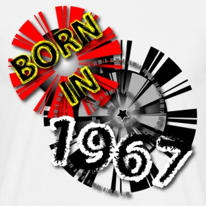 Geburtstag Birthday-1967 Shirt Design-Born in  T-Shirts - Männer T-Shirt