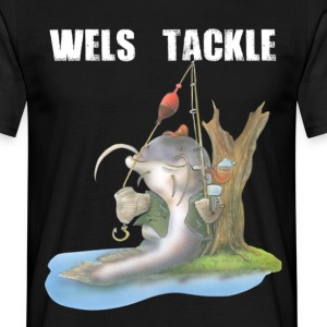 Wels Tackle - Männer T-Shirt