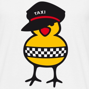 Taxi Chick - T-shirt Homme
