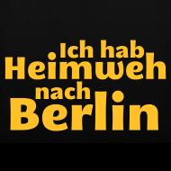 Motiv ~ Ich hab Heimweh nach Berlin - Tasche