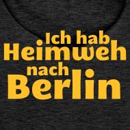 Motiv ~ Ich hab Heimweh nach Berlin - Männer Kapuzenpullover