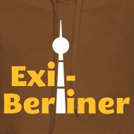 Motiv ~ Exil-Berliner - Frauen Kapuzenpullover