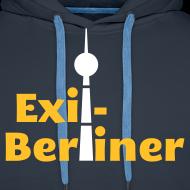 Motiv ~ Exil-Berliner - Männer Kapuzenpullover