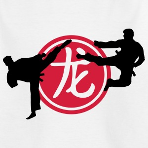 chinese_sign_dragon_karate_a_2c T-shirts - T-shirt tonåring