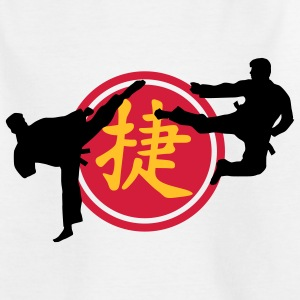 chinese_sign_victory_karate_a_3c Shirts - Teenage T-shirt