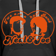 Motiv ~ Two are a half Band Hoodie Girls