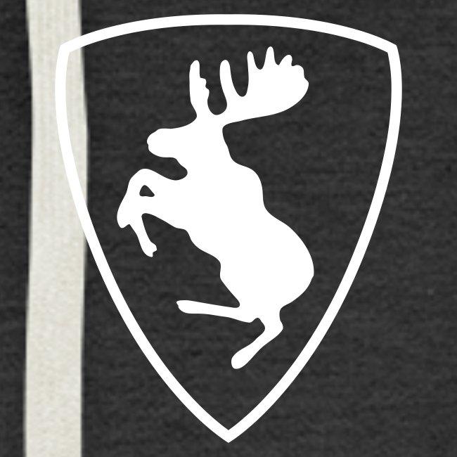 Prancing moose, more colours