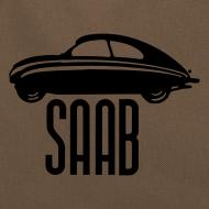 Design ~ Vintage Saab92 retro bag