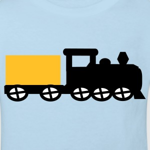 train Kids' Shirts - Kids' Organic T-shirt