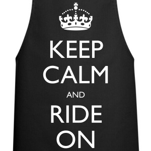 Keep Calm and Ride On  Aprons - Cooking Apron