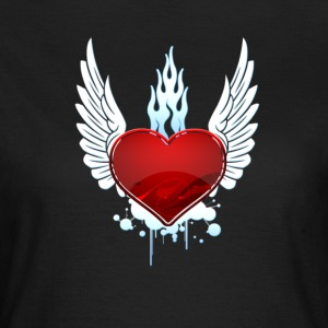 Winged Heart - Frauen T-Shirt