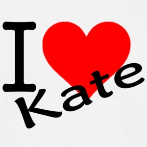 I LOVE KATE T-Shirts - Men's T-Shirt