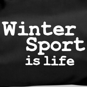 winter sport is life Tassen - Sporttas