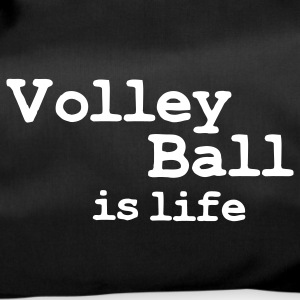 volleyball is life Borse - Borsa sportiva