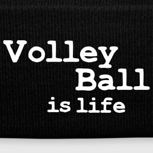volleyball is life Caps & Hats - Winter Hat