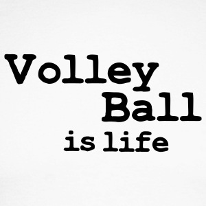 volleyball is life Long sleeve shirts - Men's Long Sleeve Baseball T-Shirt