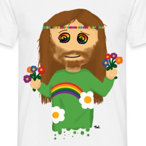 Hippie T-shirts - Mannen T-shirt