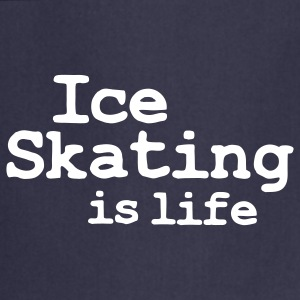 ice skating is life Grembiuli - Grembiule da cucina