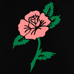 Tattoo rose vintage by Patjila Baby T-Shirts - Baby T-Shirt