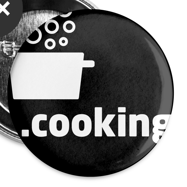 dot.cooking // button (25 mm)