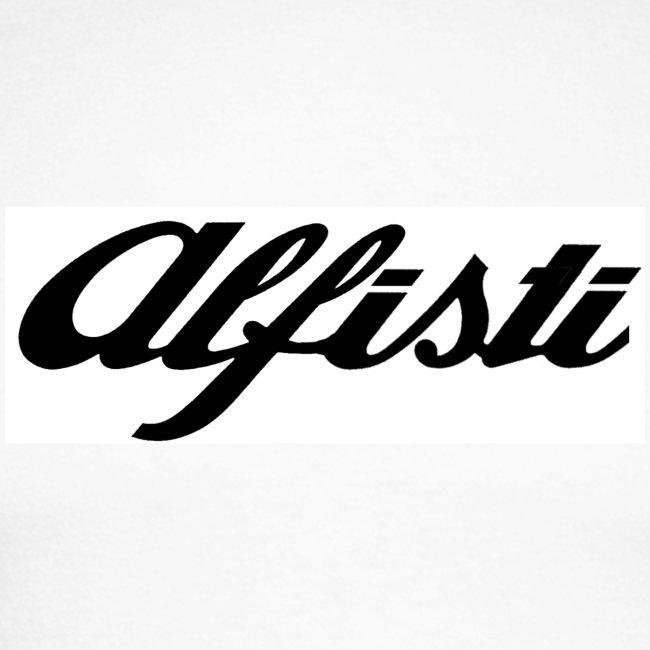 Alfisti (Big Logo) Raglan Navy Longsleeve