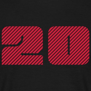 20 T-shirts - Herre-T-shirt