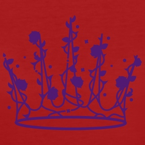 Sleeping Beauty crown of roses and thorns T-Shirts - Women's Organic T-shirt