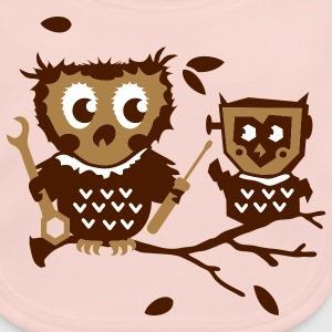 Owls do it yourself kit Accessories - Baby Organic Bib