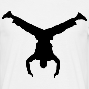 handstand breakdance T-shirts - T-shirt Homme