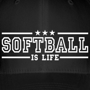 softball is life deluxe Caps & luer - Flexfit baseballcap