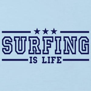 surfing is life deluxe Kids' Shirts - Kids' Organic T-shirt