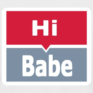 hi babe T-shirts - T-shirt baseball manches courtes Homme