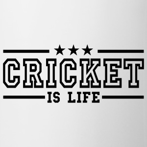 cricket is life deluxe Mugs  - Mug